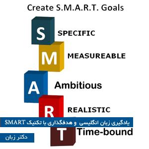 یادگیری زبان انگلیسی و هدف گذاری با تکنیک SMART